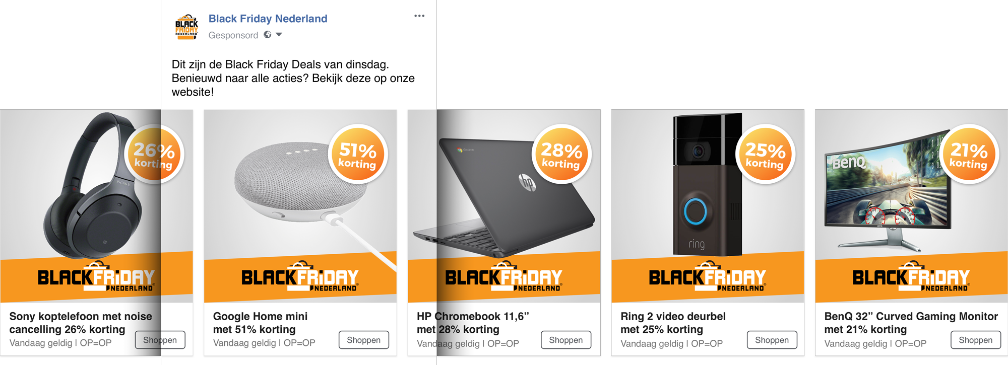 black friday deals carousel